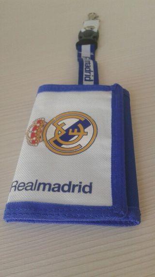 Monedero cartera billetera del Real Madrid
