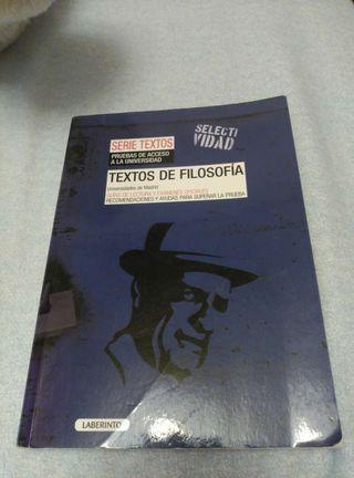 Textos de filosofía.