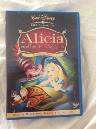 Alicia en el Pais de las Maravillas Edicion Especial DVD