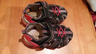 Sandalia deportiva niña num 24 marca S'hayber