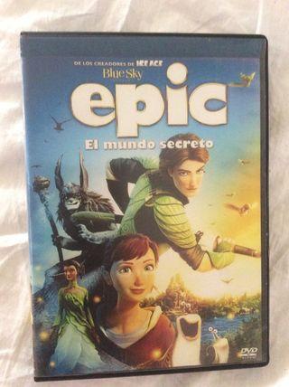 Epic El Mundo Secreto DVD