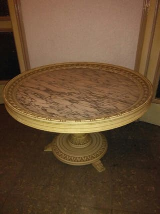 Mesa antigua marmol de segunda mano en valencia en wallapop - Mesas de segunda mano en valencia ...