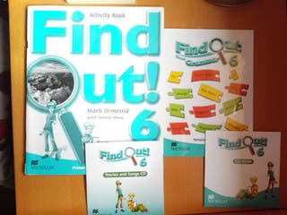 Find Out 6 Activity Book +CD+About Grammar