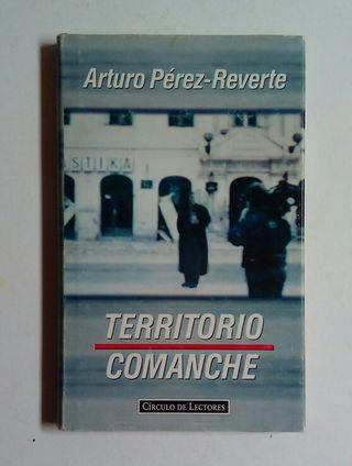 """Libro """"Territorio Comanche"""", Arturo Pérez Reverte"""