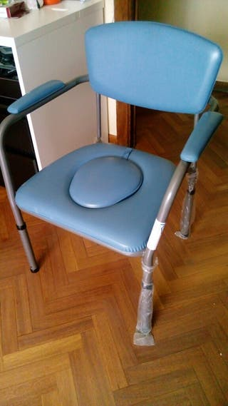 wc portatil higiene movilidad reducida nueva