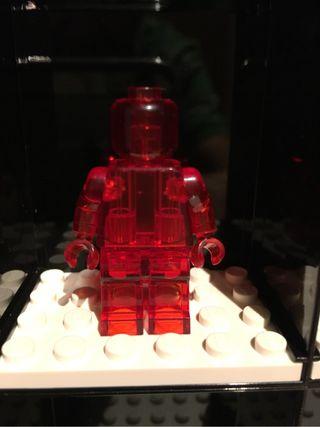 Minifiguras transparentes compatibles LEGO