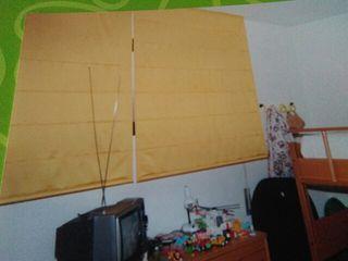 4 cortinas estor
