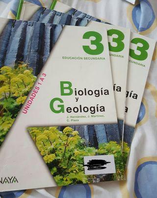 Biología y geología 3°eso