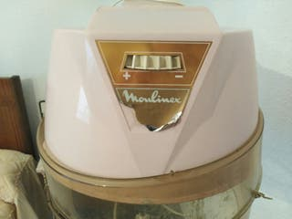 Secador casco con pie vintage Moulinex