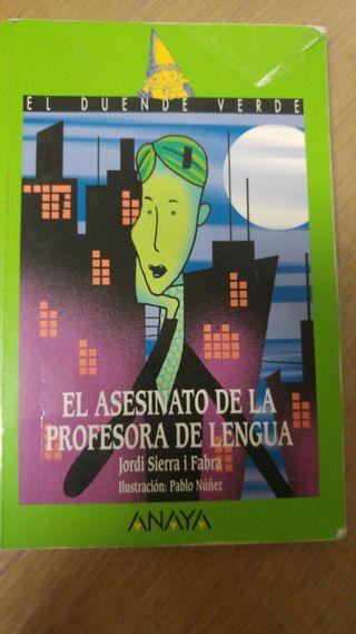 El asesinato de la profesora de lengua - Jordi Sierra i Fabra