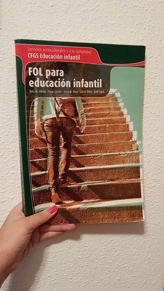 Libro FOL para educación infantil