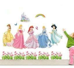 Vinilo decorativo vinilos decorativos pegatina pegatinas stickers para pared princesas disney