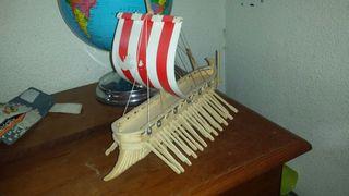 Maqueta hecha barco