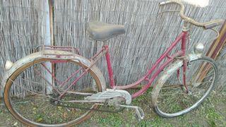Bici antigua freno de varillas