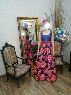 Vestido de fiesta Ana Torres