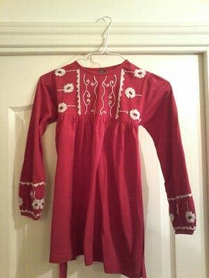Camiseta 6 Roja Zara 5 Talla xaxf8rS