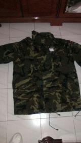 Chaqueton militar. Talla 3