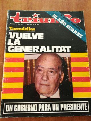 Revista Triunfo. 1977