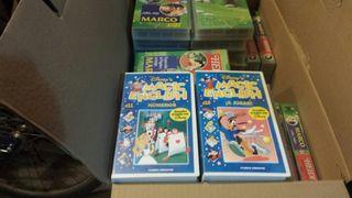 MAGIC ENGLISH VHS Colección completa
