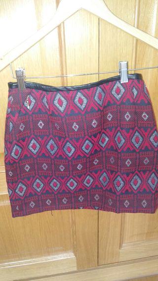 Minifalda tribal Sfera talla 38