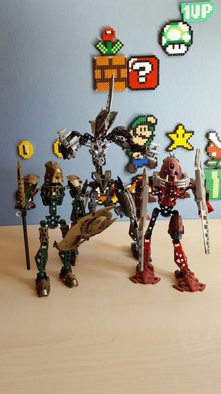 Pack 3 muñecos Lego Bionicle