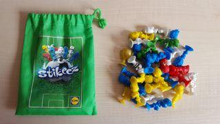 Pack Stikeez futbol + bolsa