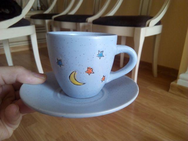 Juego de cafe y tetera