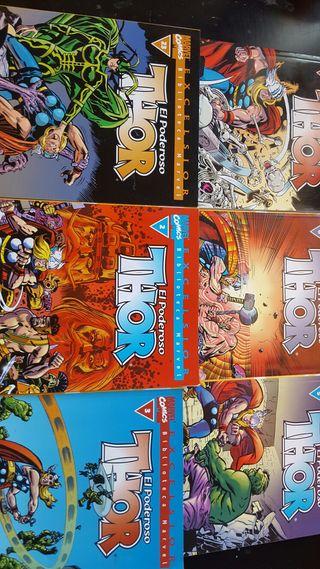 Coleccion comic Thor.