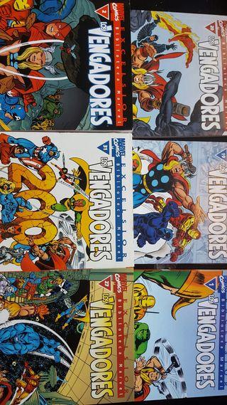 Marvel comics los vengadores.