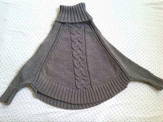Poncho talla única
