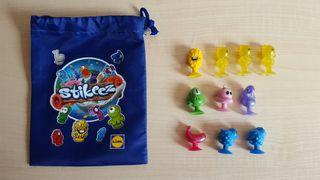 Pack Stikeez + bolsa de regalo