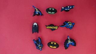 PINS Charms Batman Zapatos Crocs & Pulseras Jibbitz Lot