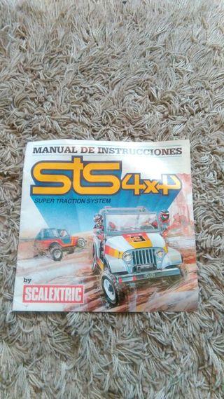 STS 4x4 Manual de instrucciones.