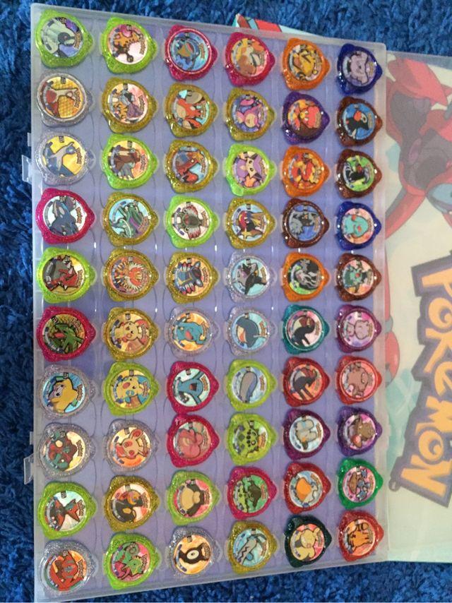 Colección tazos pokemon kracks