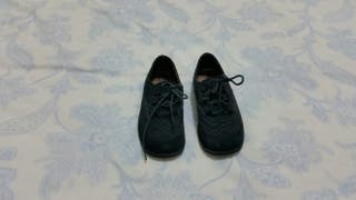 Zapatos tipo inglés en serraje 1 puesta