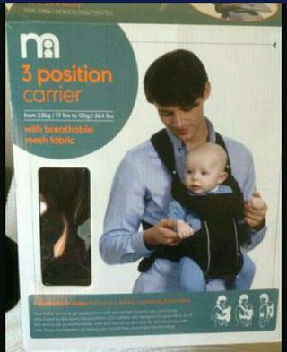 Mochila portabebes mothercare