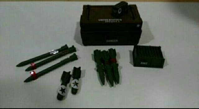 Depósito municiones gi joe