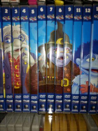 Colección dvd o enciclopedia los Lunis