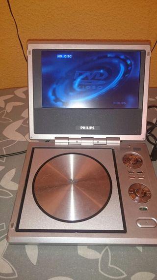DVD Philips portátil