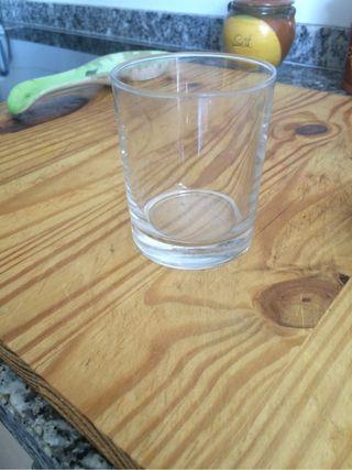 Vasos cristal resistente