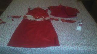 Vestido + torera + fajin