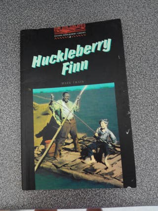Libro en inglés :Huckleberry Finn