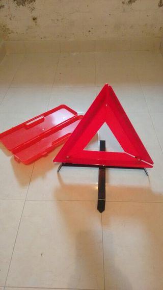 Juego 2 triángulos para coche