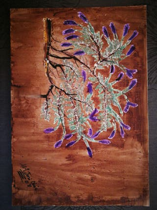 Lamina « Árbol en flor »