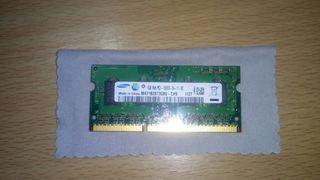 Módulo Ram Samsung 1Gb DDR3 1333 Mhz