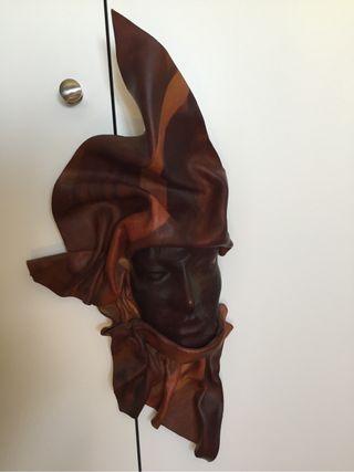 Máscara de cuero