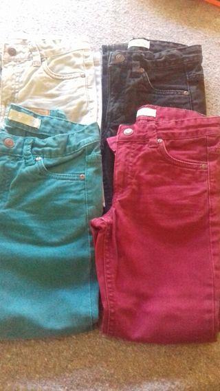 Pantalones vaqueros varios colores