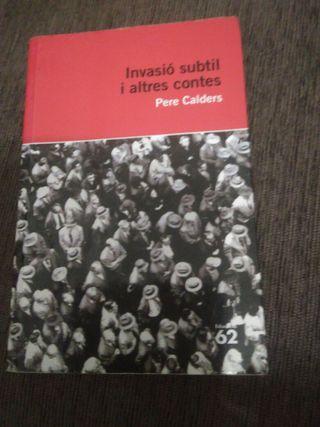 Invasió subtil i altres contes / Pilar Prim