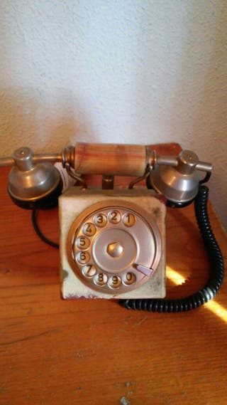 Teléfono de onix, antiguo