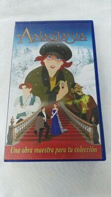 pelicula de dibujos Anastasia VHS